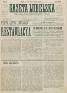 Gazeta Lubelska : pismo rolniczo-przemysłowo-handlowe i literackie. R. 24, nr 142 (1899)