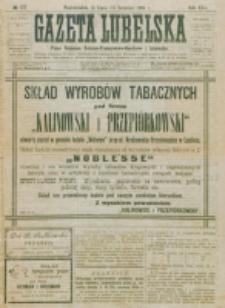 Gazeta Lubelska : pismo rolniczo-przemysłowo-handlowe i literackie. R. 25, nr 177 (1900)