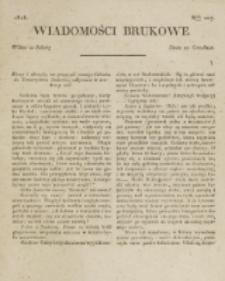 Wiadomości Brukowe. Nr 107 (1818)