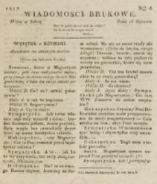 Wiadomości Brukowe. Nr 6 (1817)