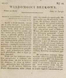 Wiadomości Brukowe. Nr 10 (1817)