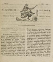 Wiadomości Brukowe. Nr 15 (1817)