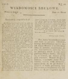 Wiadomości Brukowe. Nr 16 (1817)