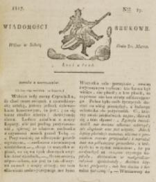Wiadomości Brukowe. Nr 17 (1817)