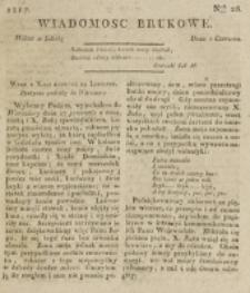 Wiadomości Brukowe. Nr 26 (1817)