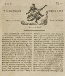 Wiadomości Brukowe. Nr 27 (1817)