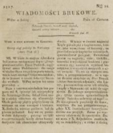 Wiadomości Brukowe. Nr 28 (1817).