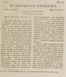 Wiadomości Brukowe. Nr 30 (1817)