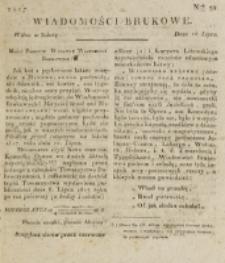 Wiadomości Brukowe. Nr 32 (1817)