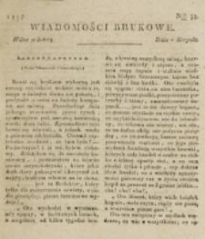 Wiadomości Brukowe. Nr 35 (1817)
