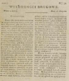 Wiadomości Brukowe. Nr 38 (1817)