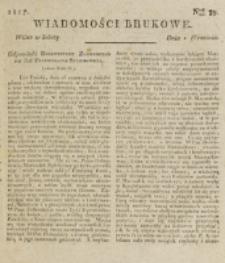 Wiadomości Brukowe. Nr 39 (1817)