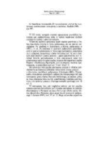 Recenzja : G. Sanciñena Asurmendi, El reconocimiento civil de las resoluciones matrimoniales extranjeras y canónicas, Madrid 1999, pp. 207.