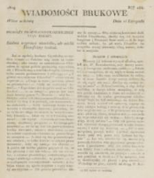 Wiadomości Brukowe. Nr 154 (1819)