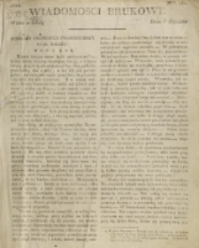 Wiadomości Brukowe. Nr 161 (1820)