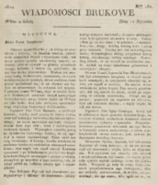 Wiadomości Brukowe. Nr 162 (1820)
