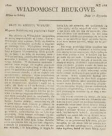 Wiadomości Brukowe. Nr 163 (1820)