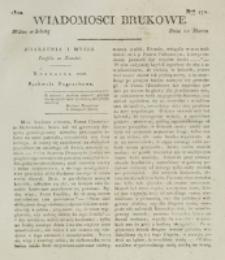 Wiadomości Brukowe. Nr 172 (1820)