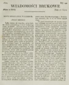 Wiadomości Brukowe. Nr 190 (1820)