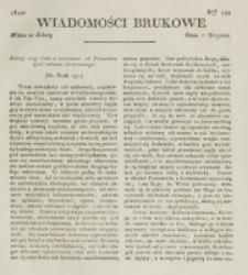 Wiadomości Brukowe. Nr 192 (1820)