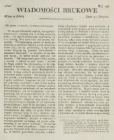 Wiadomości Brukowe. Nr 194 (1820)