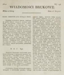 Wiadomości Brukowe. Nr 195 (1820)