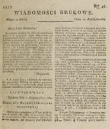 Wiadomości Brukowe. Nr 46 (1817)