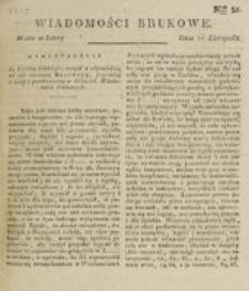Wiadomości Brukowe. Nr 51 (1817)