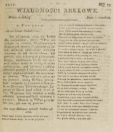 Wiadomości Brukowe. Nr 53 (1817)