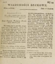 Wiadomości Brukowe. Nr 54 (1817)