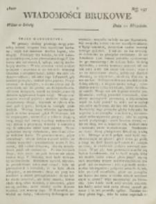 Wiadomości Brukowe. Nr 197 (1820)