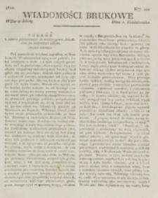 Wiadomości Brukowe. Nr 200 (1820)