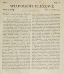 Wiadomości Brukowe. Nr 203 (1820)
