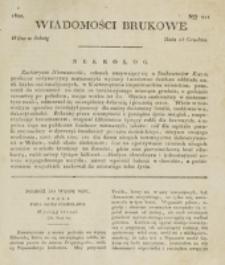 Wiadomości Brukowe. Nr 211 (1820)