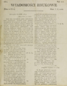 Wiadomości Brukowe. Nr 214 (1821)