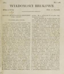 Wiadomości Brukowe. Nr 216 (1821)