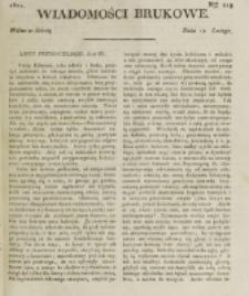 Wiadomości Brukowe. Nr 219 (1821)