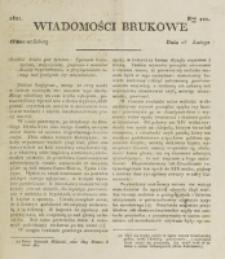 Wiadomości Brukowe. Nr 221 (1821)