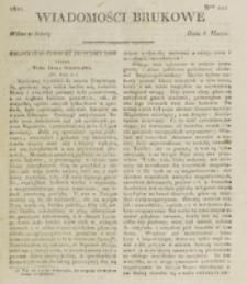 Wiadomości Brukowe. Nr 222 (1821)
