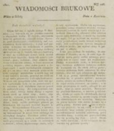 Wiadomości Brukowe. Nr 226 (1821)