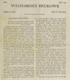 Wiadomości Brukowe. Nr 229 (1821)