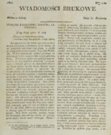 Wiadomości Brukowe. Nr 230 (1821)