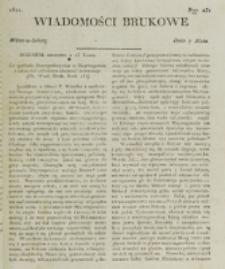 Wiadomości Brukowe. Nr 231 (1821)