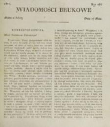 Wiadomości Brukowe. Nr 234 (1821)