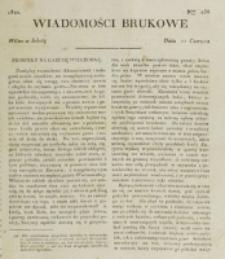Wiadomości Brukowe. Nr 236 (1821)