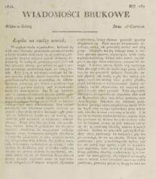 Wiadomości Brukowe. Nr 237 (1821)