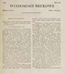 Wiadomości Brukowe. Nr 244 (1821)