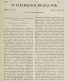Wiadomości Brukowe. Nr 247 (1821)