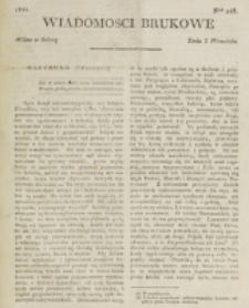 Wiadomości Brukowe. Nr 248 (1821)