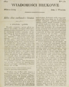 Wiadomości Brukowe. Nr 250 (1821)